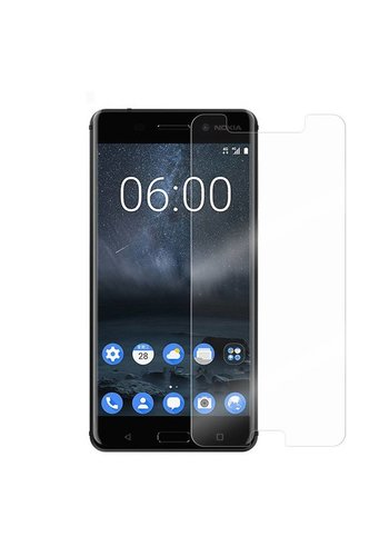 "Colorfone Glass Nokia 6 (5.5"") Transparant"