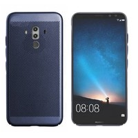 Backcover Holes voor Huawei Mate 10 Pro Blauw