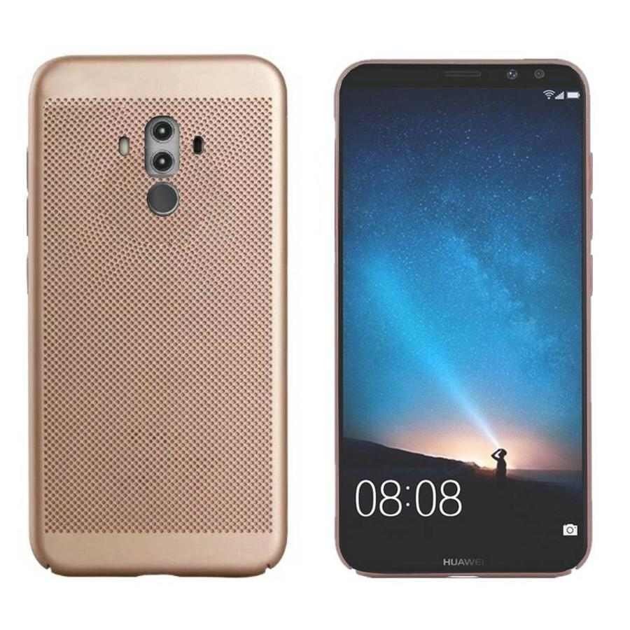 Backcover Holes voor Huawei Mate 10 Pro Goud
