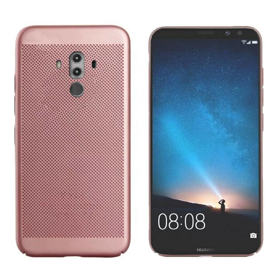 Backcover Holes voor Huawei Mate 10 Pro Rose Goud