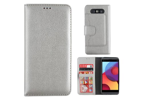 Colorfone Wallet Case Q8 Zilver