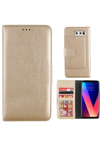 Colorfone Wallet Case V30 Goud