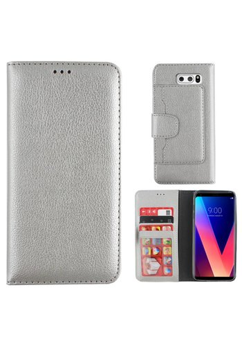 Colorfone Wallet Case V30 Zilver
