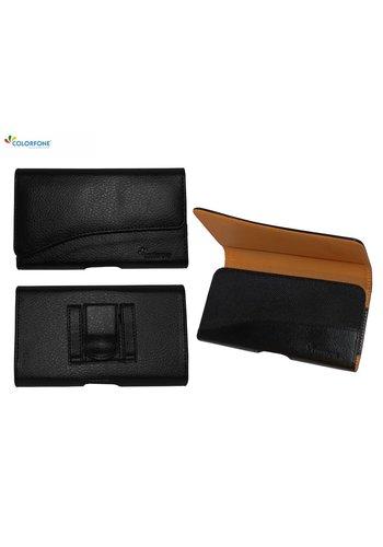 Colorfone Horizontal Elegant iPhone X / Xs Black