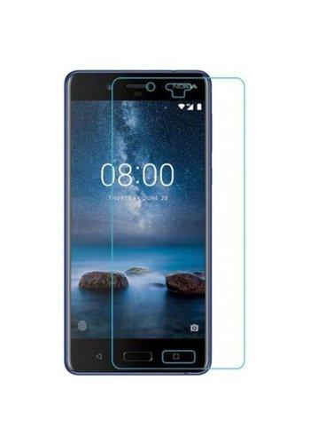 """Colorfone Glass Nokia 8 (5.3"""") Transparant"""