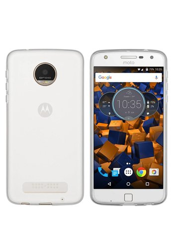 Colorfone CoolSkin3T Moto Z Play Transparant Wit