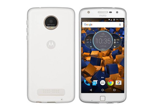 Colorfone CoolSkin3T Moto Z Play Transparent White