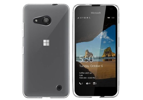 Colorfone CoolSkin3 Lumia 550 Tr. Wit