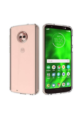 Colorfone CoolSkin3T Moto G6 Tr. Wit