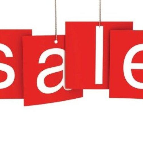 Sale 50% korting