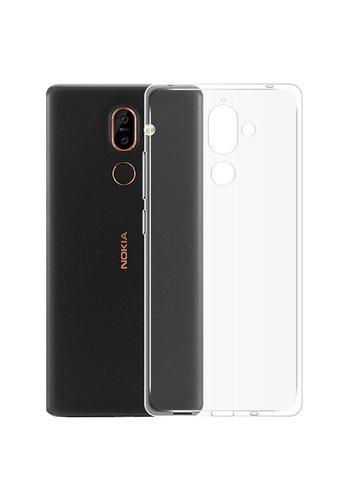 Colorfone CoolSkin3T Nokia 7 Plus Tr. Biały