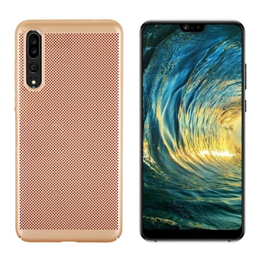 BackCover Holes Huawei P20 Goud