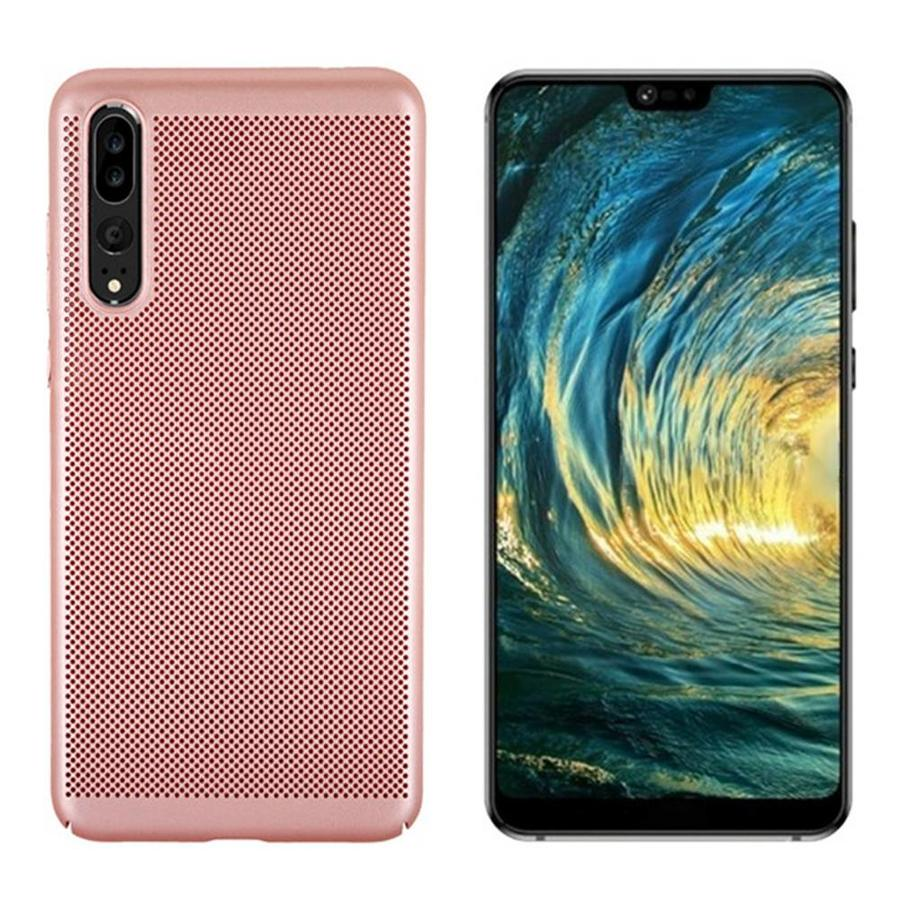 BackCover Löcher Huawei P20 Rose Gold
