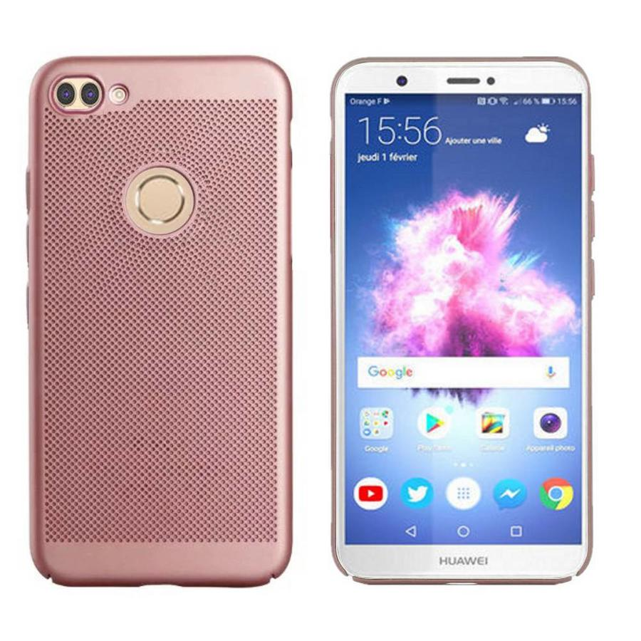BackCover Löcher Huawei P Smart Rose Gold