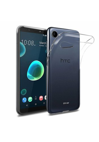 Colorfone Coolskin3T HTC Desire 12 Transparant Wit