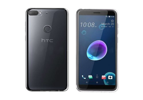 Colorfone Coolskin3T HTC Desire 12+ Transparant Wit