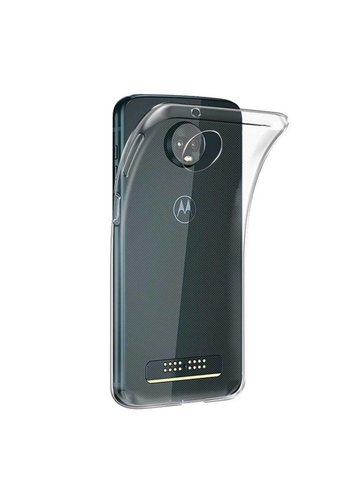 Colorfone CoolSkin3T Moto Z3 Play Transparant Wit