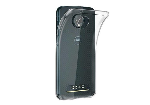 Colorfone CoolSkin3T Moto Z3 Play Transparent Weiß