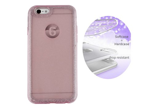 Colorfone BackCover Layer Apple iPhone 6 / 6S Pink