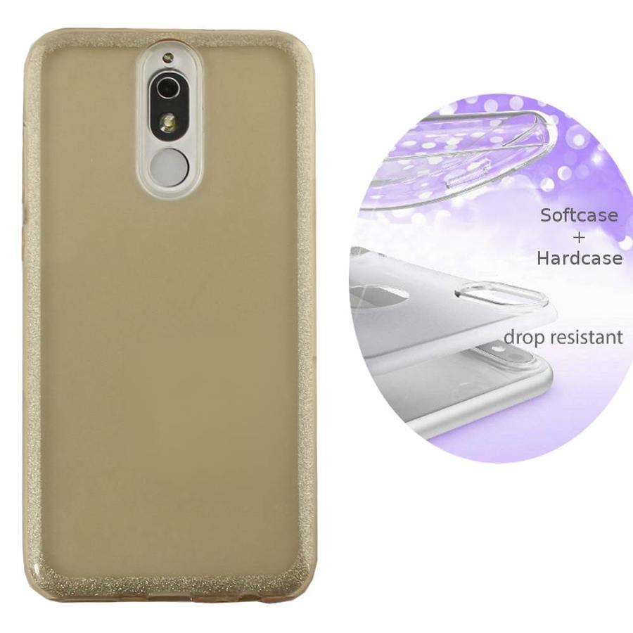 BackCover Layer TPU + PC Huawei Mate 10 Lite Goud