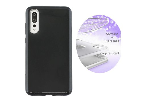 Colorfone BackCover Layer Huawei P20 Pro Zwart