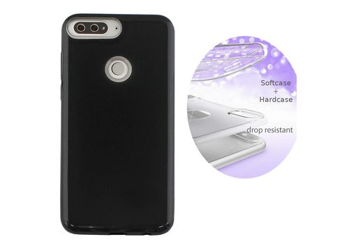 Colorfone BackCover Layer Huawei Y7 2018 Black