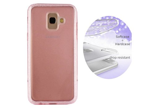 Colorfone BackCover Layer Samsung A6 Plus 2018 Pink