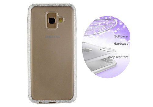 Colorfone BackCover Layer Samsung A6 Plus 2018 Silver