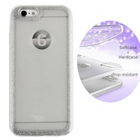BackCover Layer TPU + PC Apple iPhone 8 Plus / 7 Plus Silber