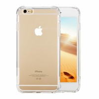 Backcover Shockproof TPU + PC voor Apple iPhone 6/6S Transparant