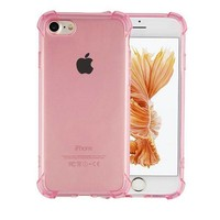 Backcover Shockproof TPU 1.5mm Apple iPhone 6/6S Transparant Roze