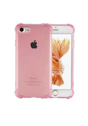 Colorfone Stoßfestes TPU 1,5 mm iPhone 8 Plus / 7 Plus Transparent Pink