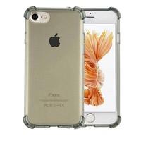 Backcover Stoßfeste TPU 1,5 mm Apple iPhone 8 Plus / 7 Plus Transparent Schwarz