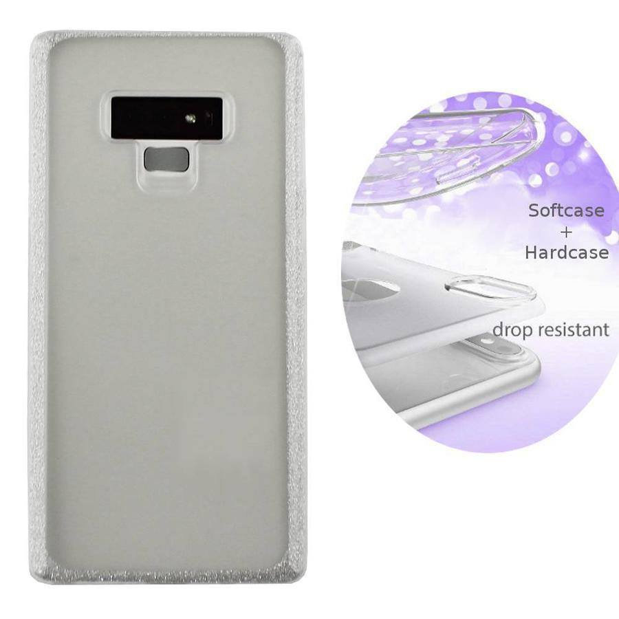 BackCover Layer TPU + PC Samsung Note 9 Silber