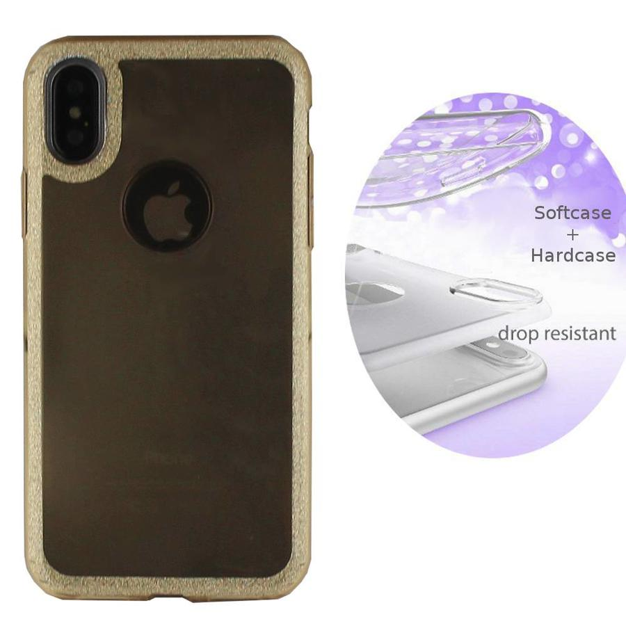 BackCover Schicht TPU + PC Apple iPhone X / Xs Gold