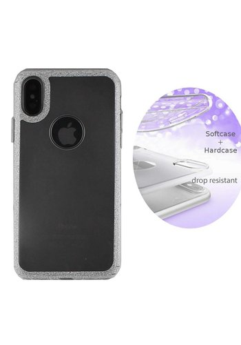 Colorfone Layer iPhone Xs Max Silver