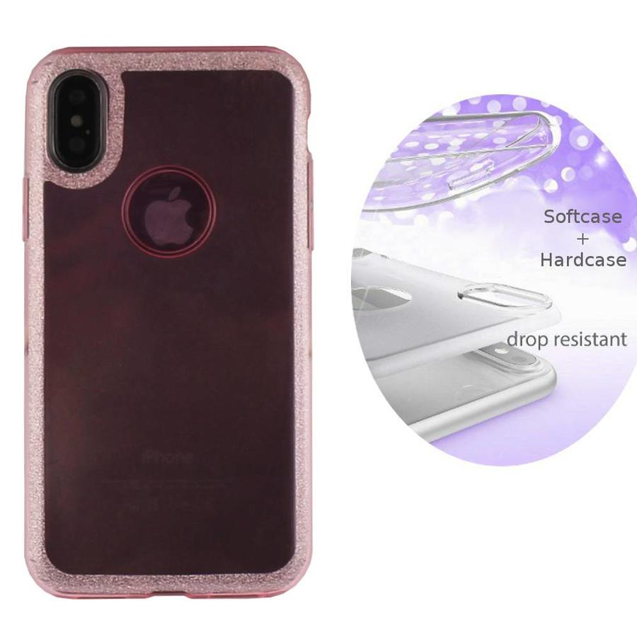 BackCover Layer TPU + PC Apple iPhone Xs Max Roze