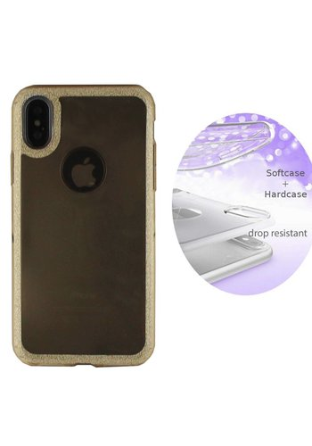 Colorfone Layer iPhone Xs Max Goud