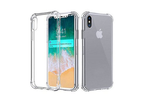 Colorfone Shockproof iPhone Xs Max Transparant