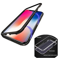 BackCover Magnet Apple iPhone Xs Max Zwart