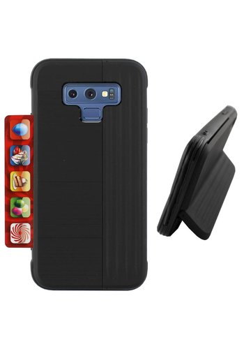 Colorfone Card Stand Note 9 Zwart