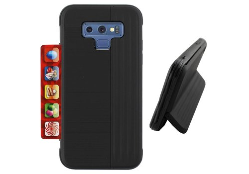 Colorfone Card Stand Samsung Note 9 Black