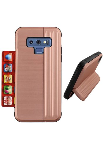 Colorfone Card Stand Note 9 Rose Goud