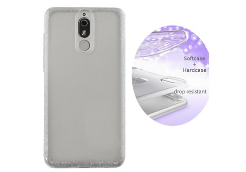 Colorfone BackCover Layer Huawei Mate 20 Lite Silver