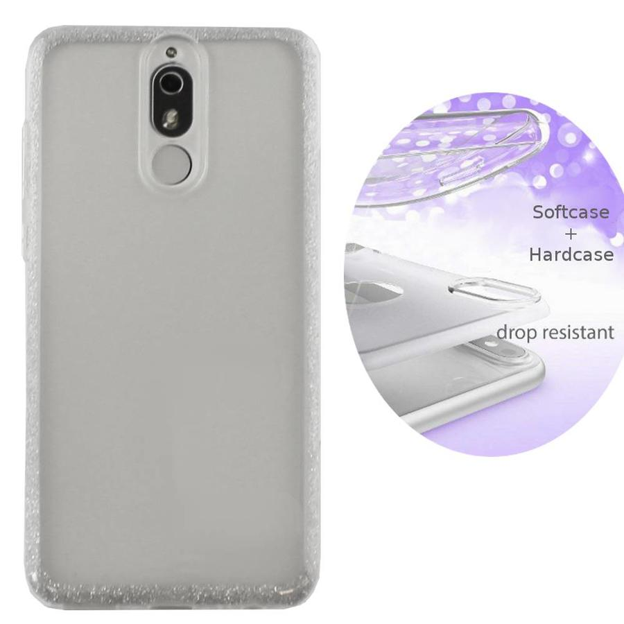 BackCover Layer TPU + PC Huawei Mate 20 Lite Zilver