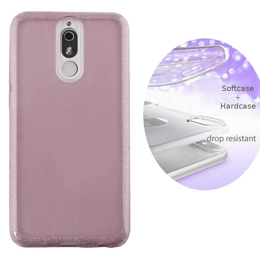 BackCover Layer TPU + PC Huawei Mate 20 Lite Roze