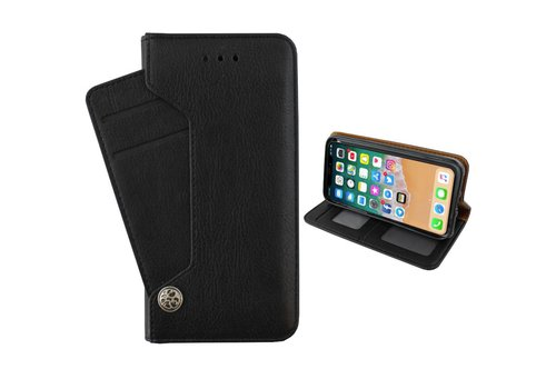 Colorfone Wallet Deluxe Case for iPhone Xs Max Black