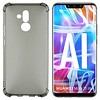 Colorfone Backcover Shockproof TPU 1.5mm Huawei Mate 20 Lite Transparant Zwart