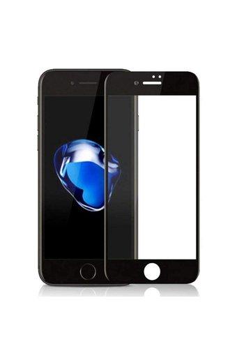 Colorfone Glas 2.5D iPhone 8 Plus / 7 Plus Transparent Schwarz