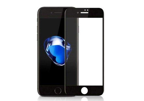 Colorfone Glass 2.5D iPhone 8 Plus/7 Plus Transparent Black